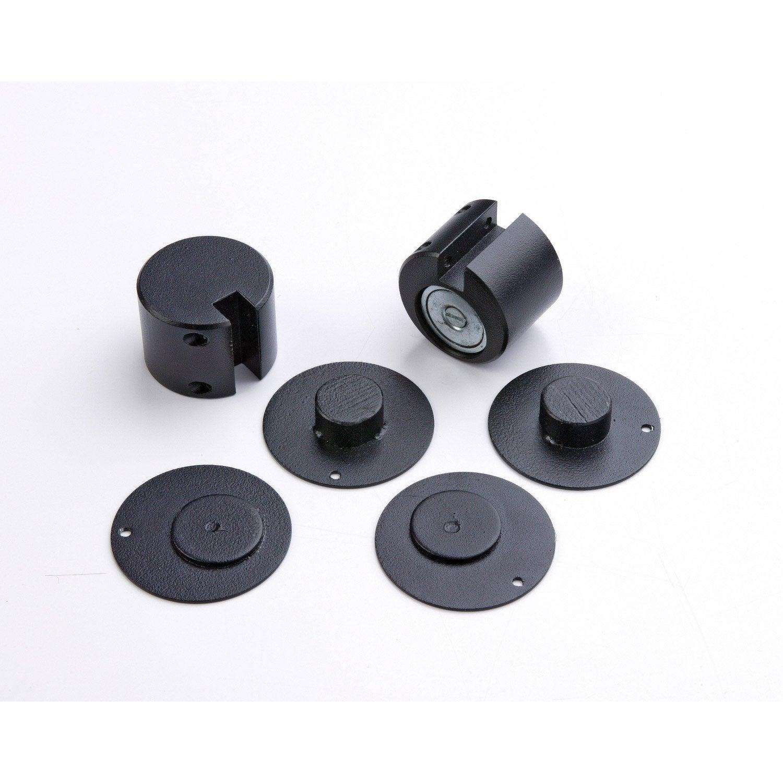 kit de fixation pour pare feu keops acier atelier dix neuf. Black Bedroom Furniture Sets. Home Design Ideas