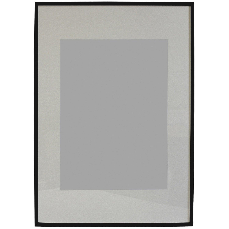 Cadre lario 70 x 100 cm noir noir n 0 leroy merlin - Leroy merlin cadre photo ...