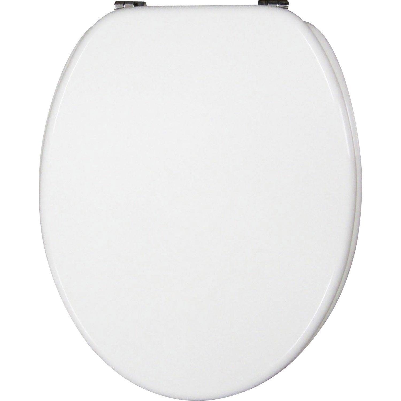 Accessoires wc noir et blanc - Abattant wc noir et blanc ...