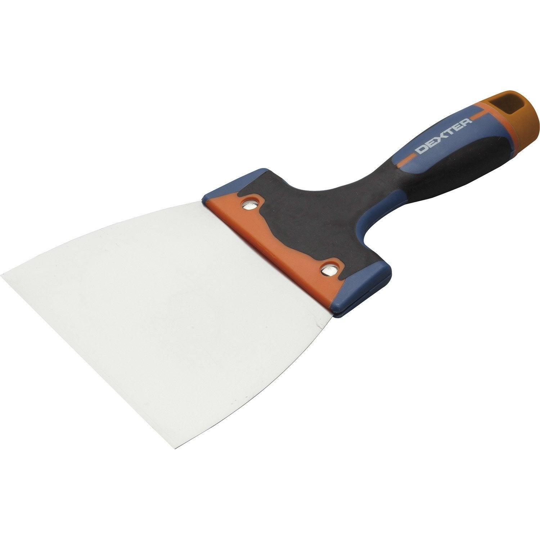 Couteau enduire acier inoxydable 14 cm leroy merlin for Panneau exterieur a enduire