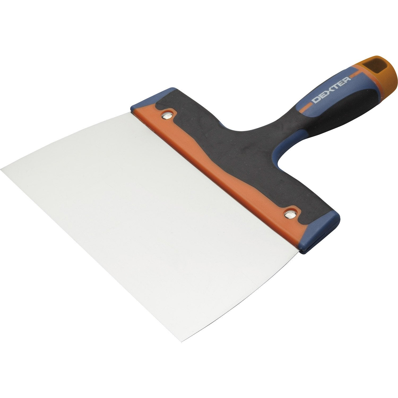 couteau enduire acier inoxydable 20 cm leroy merlin. Black Bedroom Furniture Sets. Home Design Ideas