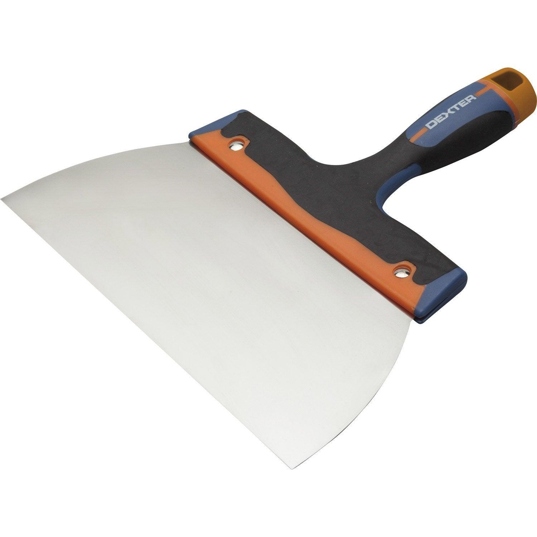 Couteau enduire acier inoxydable 24 cm leroy merlin for Panneau exterieur a enduire