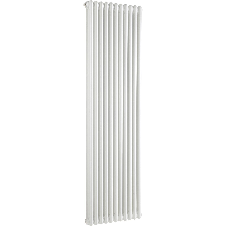 radiateur chauffage central tesi blanc cm 1858 w leroy merlin. Black Bedroom Furniture Sets. Home Design Ideas