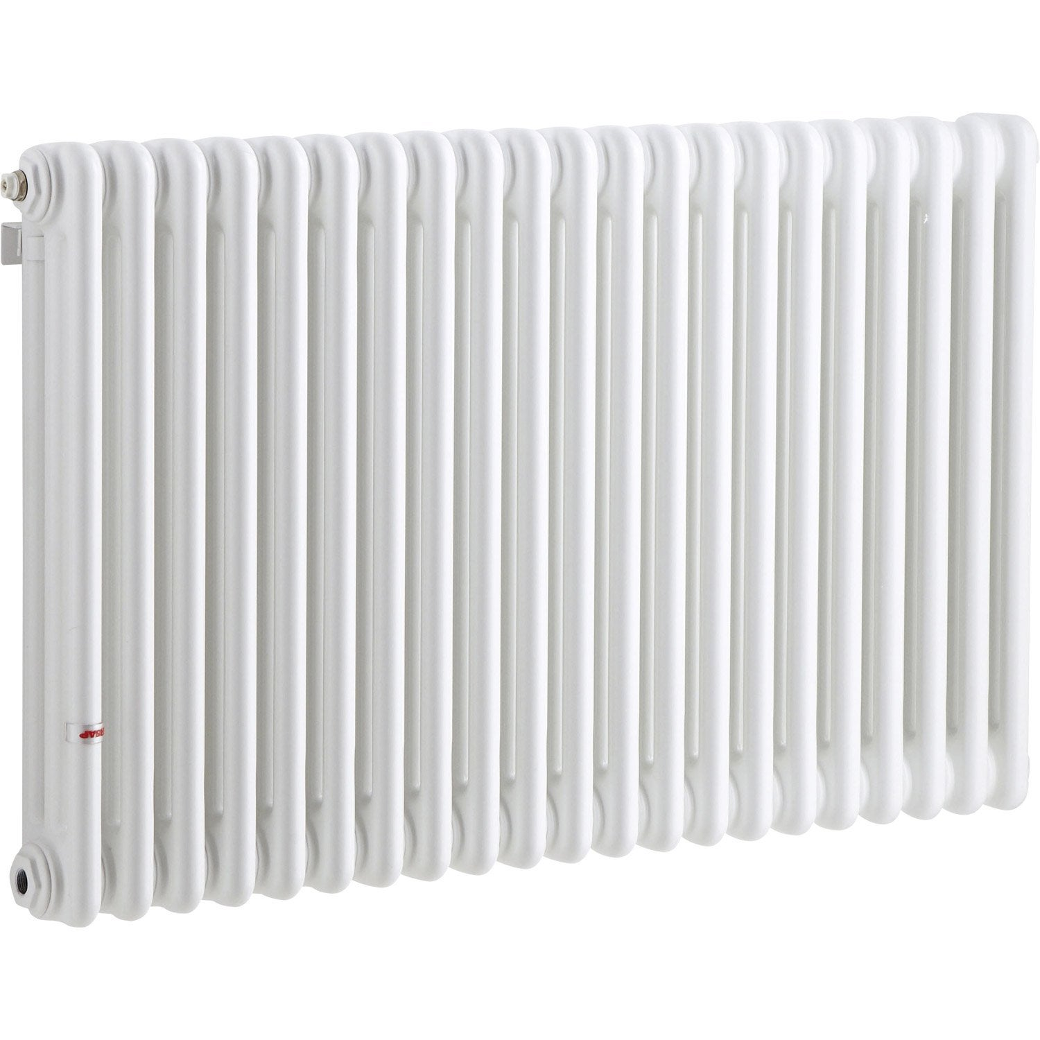 radiateur chauffage central acier tesi 3 blanc 1272w leroy merlin. Black Bedroom Furniture Sets. Home Design Ideas