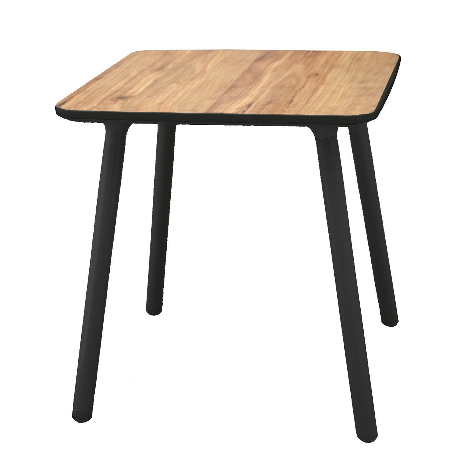Table de jardin carr e julien leroy merlin for Leroy merlin table jardin