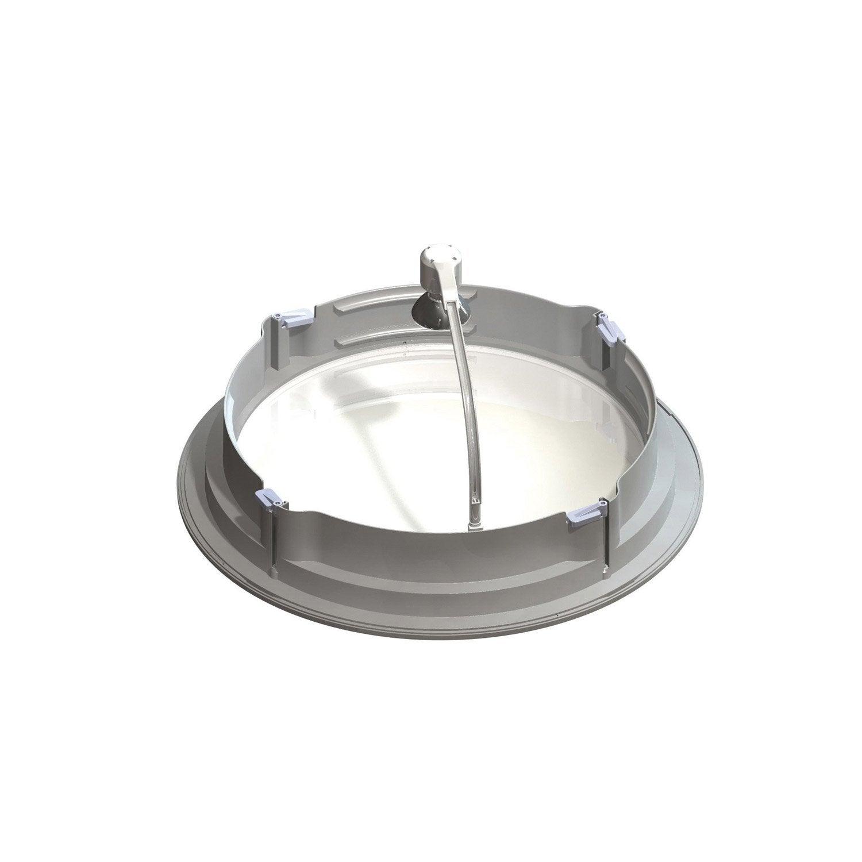 kit lampe pour conduit flexible sun tunnel velux leroy. Black Bedroom Furniture Sets. Home Design Ideas