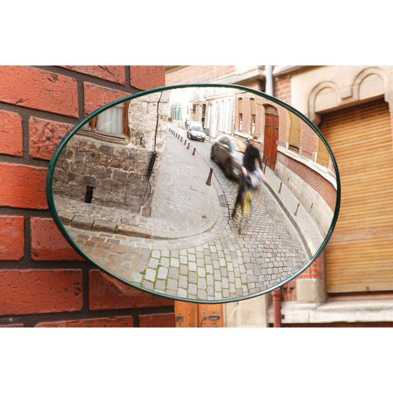 Miroir de sortie convexe int rieur ext rieur diam 34 x 56 - Leroy merlin miroir grossissant ...