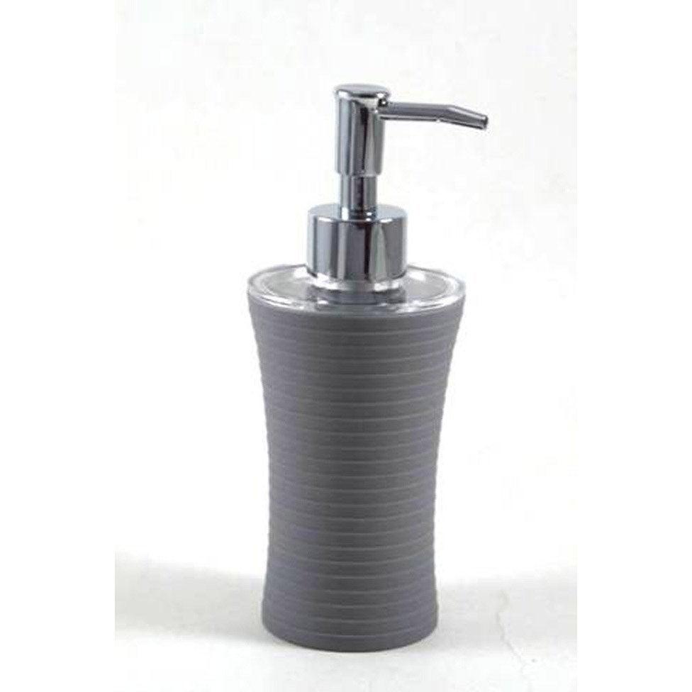 Distributeur de savon gom gris galet 3 leroy merlin - Galet leroy merlin ...