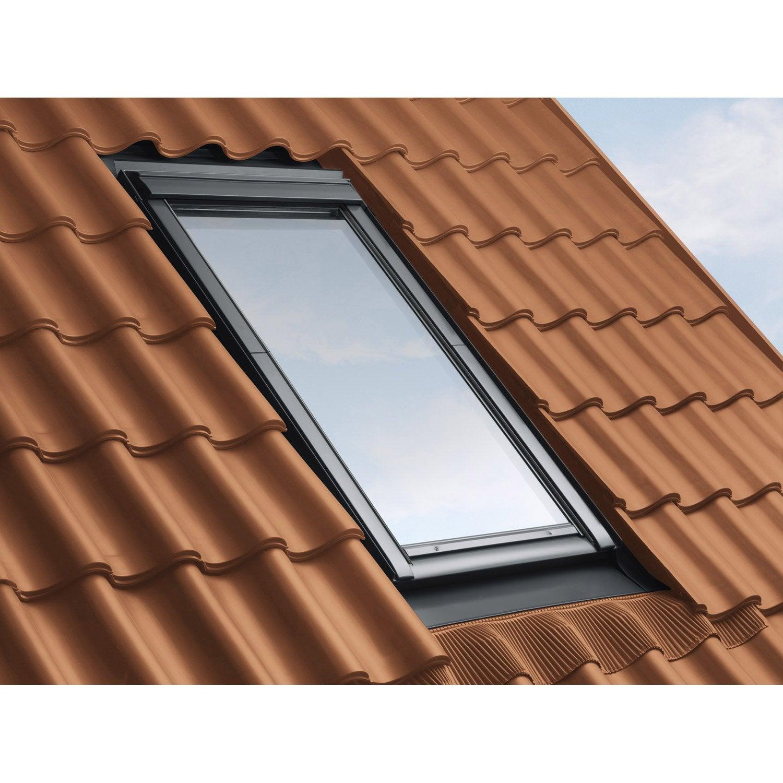 raccord pour fen tre de toit velux ew mk08 gris leroy merlin. Black Bedroom Furniture Sets. Home Design Ideas