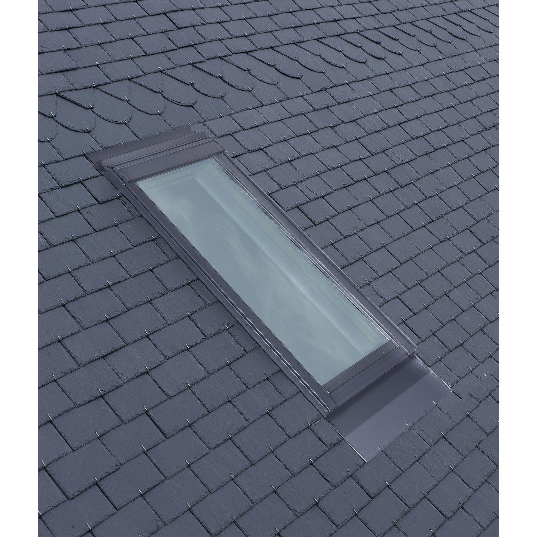 raccord pour fen tre de toit velux el sk06 gris leroy merlin. Black Bedroom Furniture Sets. Home Design Ideas