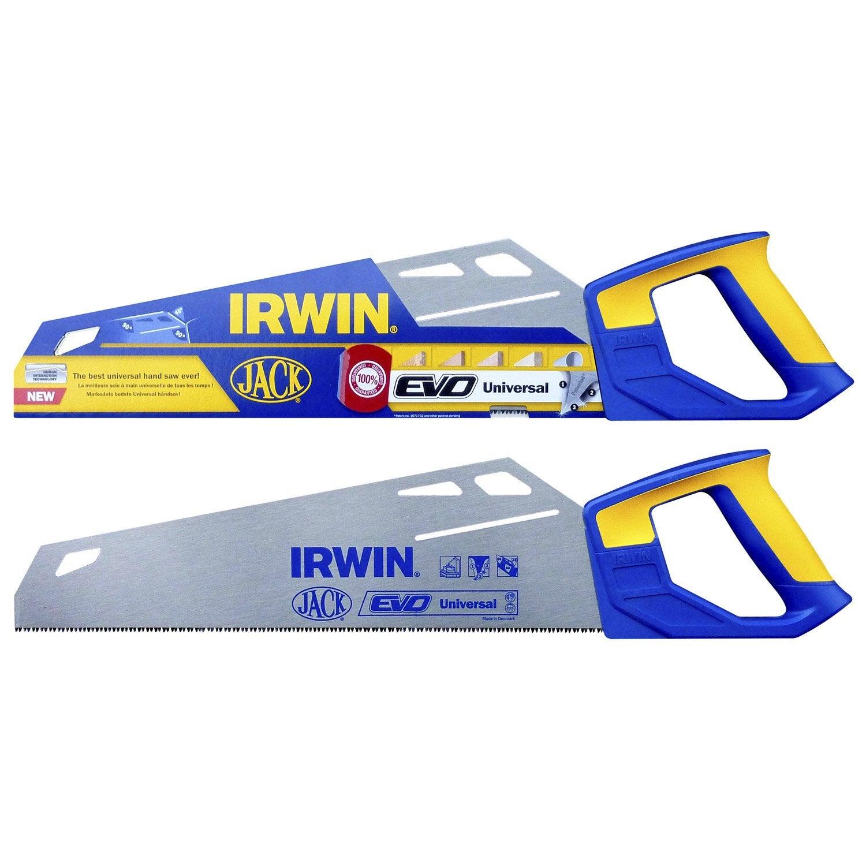 Scie u00e9gou00efne universelle IRWIN 400 mm : Leroy Merlin