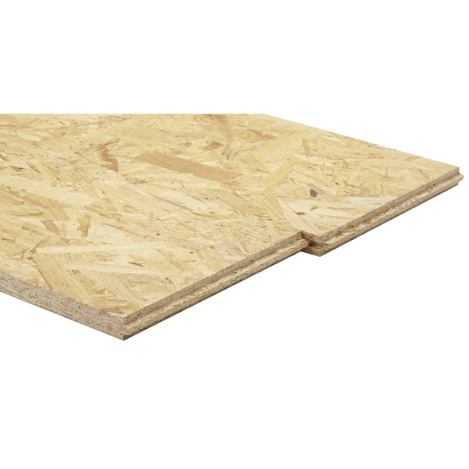 Dalle osb 3 3 plis pic a naturel mm x cm leroy merlin - Leroy merlin dalle clipsable ...