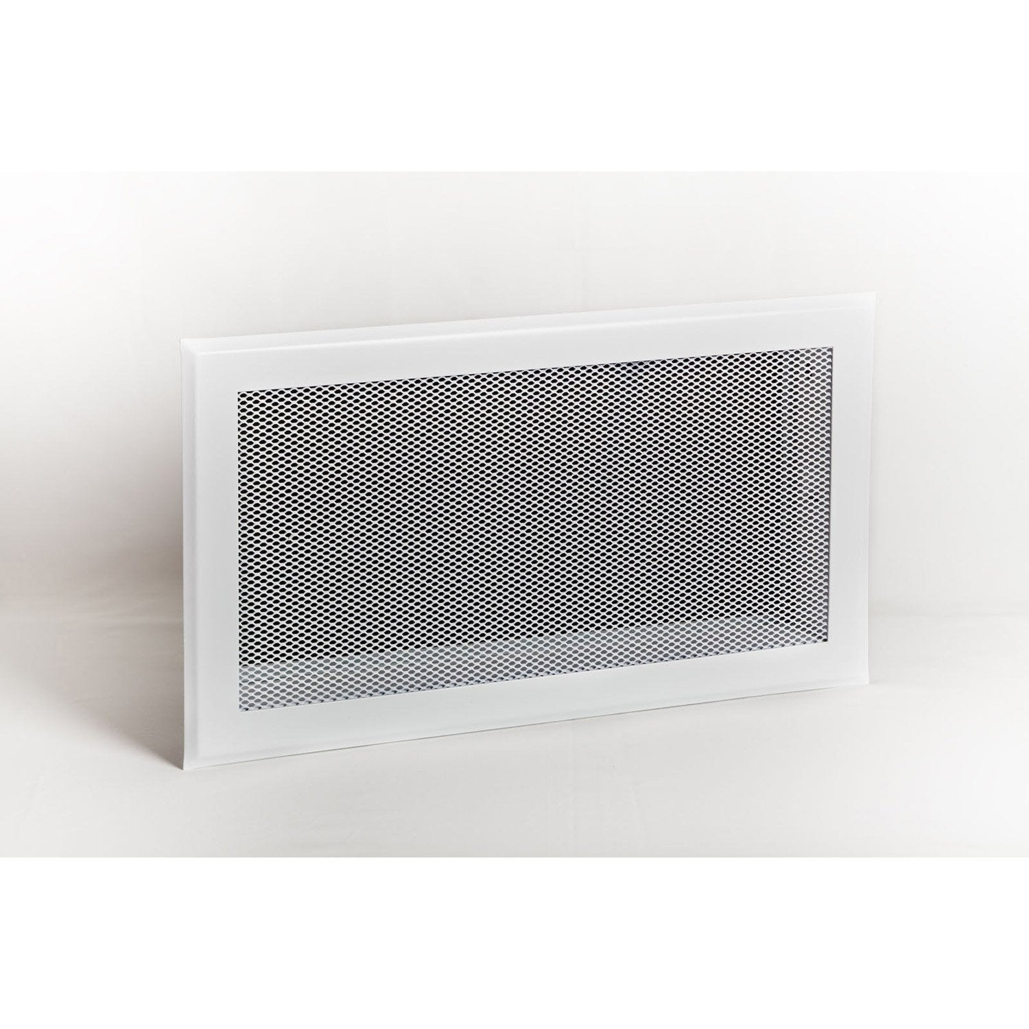 Grille De Ventilation Acier Laqu 233 233 Poxy Blanc Equation L
