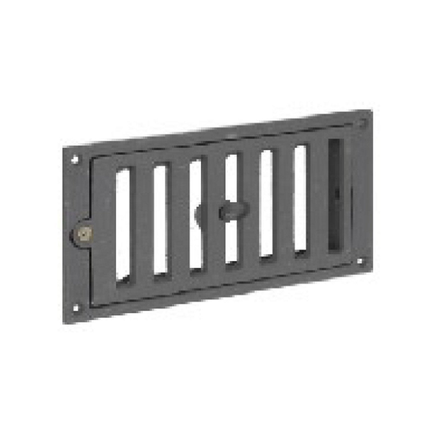 Grille d 39 air frais fonte gris fonte equation x - Grille de defense pour fenetre brico depot ...