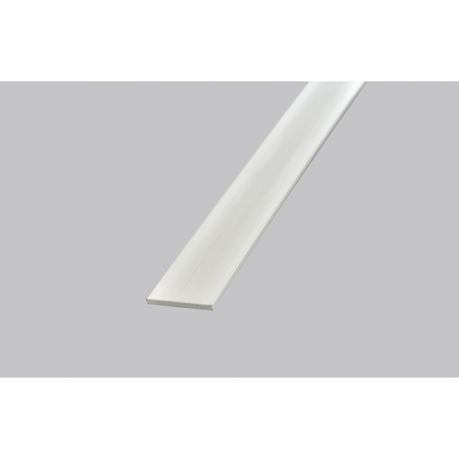 Champlat en pvc blanc long 250cm section 40x3mm leroy merlin - Canisse pvc leroy merlin ...