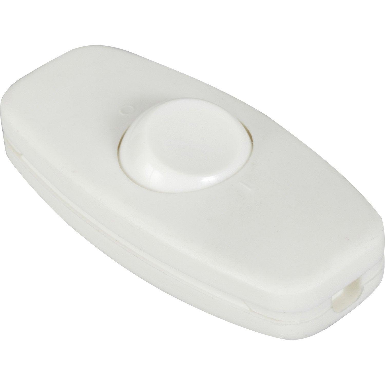 Interrupteur blanc 10 a 2300 w maxi leroy merlin for Lampe de chevet chez leroy merlin