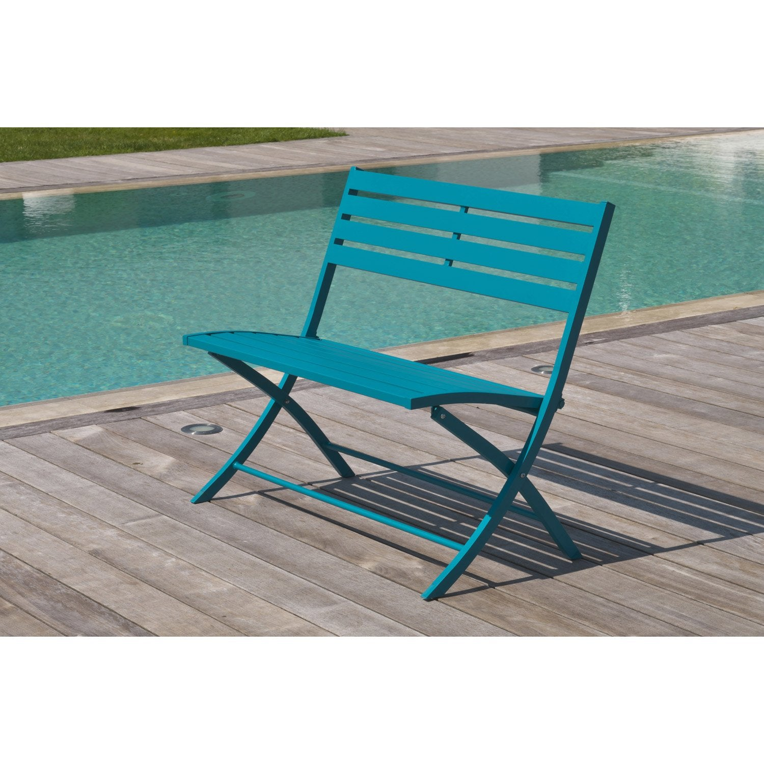 Banc exterieur leroy merlin awesome charming cabane bois for Banc jardin leroy merlin