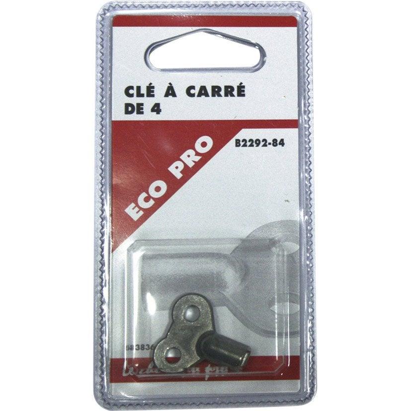Cl de purgeur carr de 4mm en laiton nickel ecopro - Cle dynamometrique leroy merlin ...