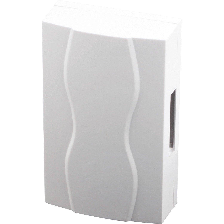 Carillon filaire scs sentinel 3248 b 220 v blanc leroy merlin - Transformateur 220v 12v leroy merlin ...