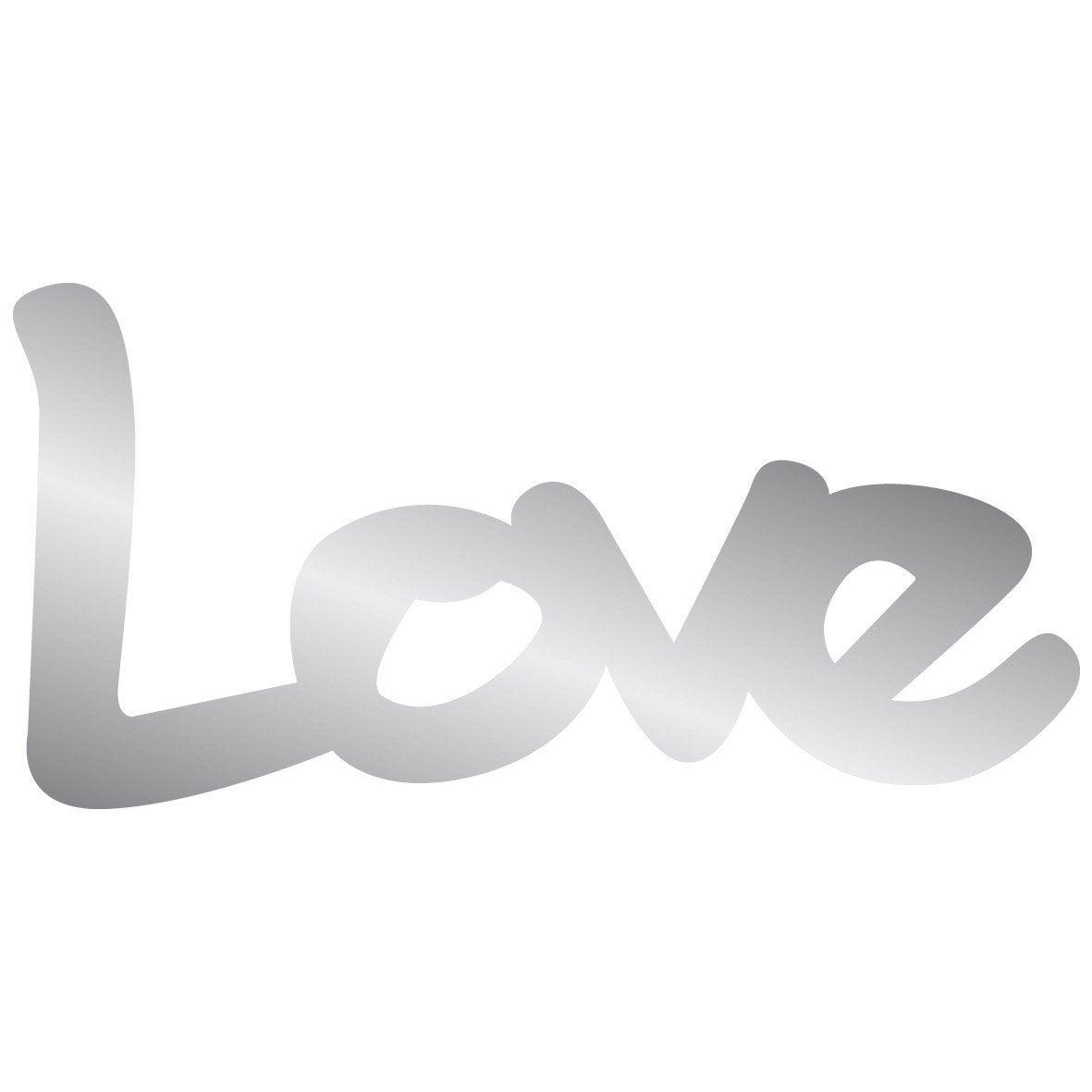 Miroir Adh Sif Love 10 X 20 Cm Leroy Merlin