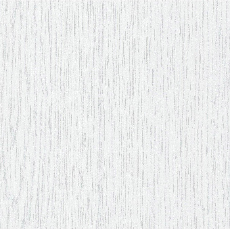 Rev tement adh sif bois blanc 2 m x m leroy merlin Revetement mural autocollant