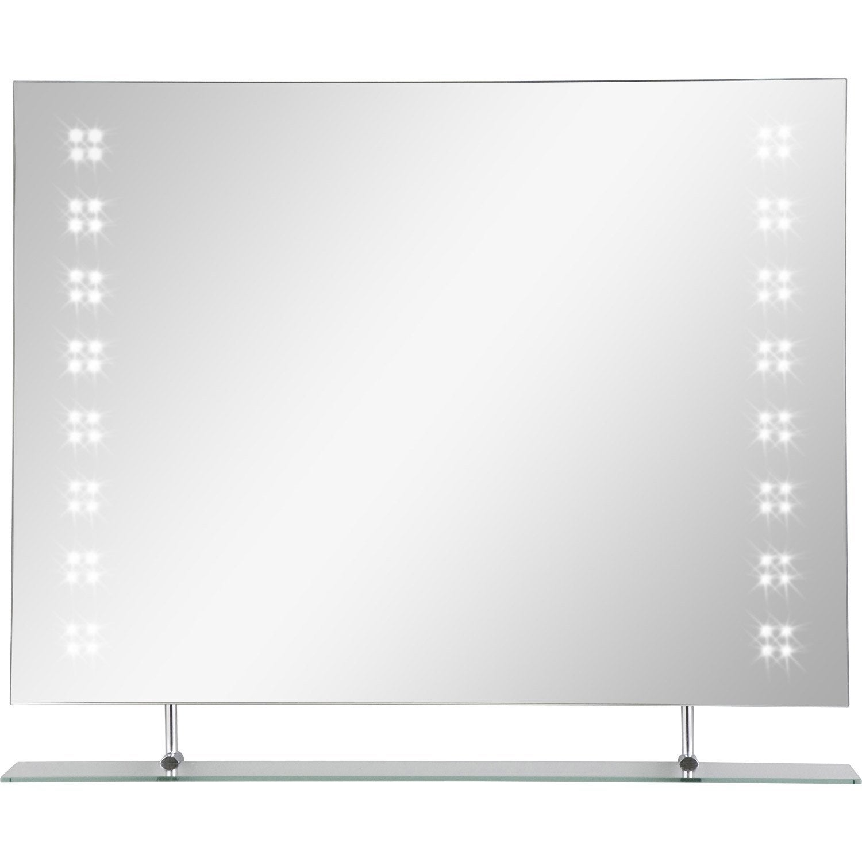 Miroir lumineux eclairage int gr x cm nova - Miroir lumineux 100 cm ...