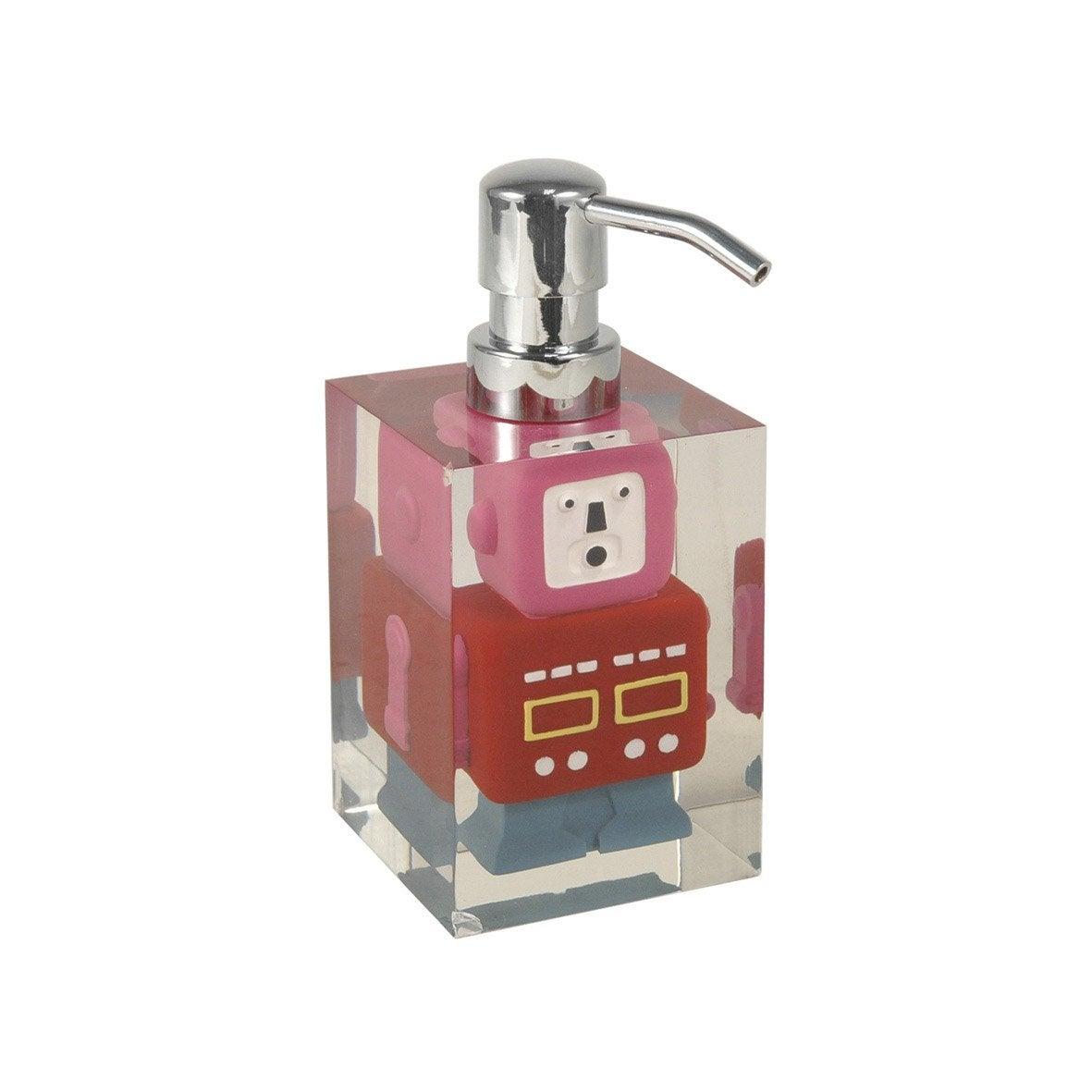 Distributeur de savon robot rouge leroy merlin for Robot piscine leroy merlin
