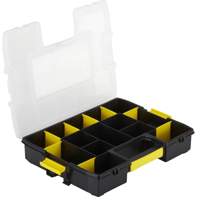 malette plastique stanley x h 7 x cm leroy merlin. Black Bedroom Furniture Sets. Home Design Ideas