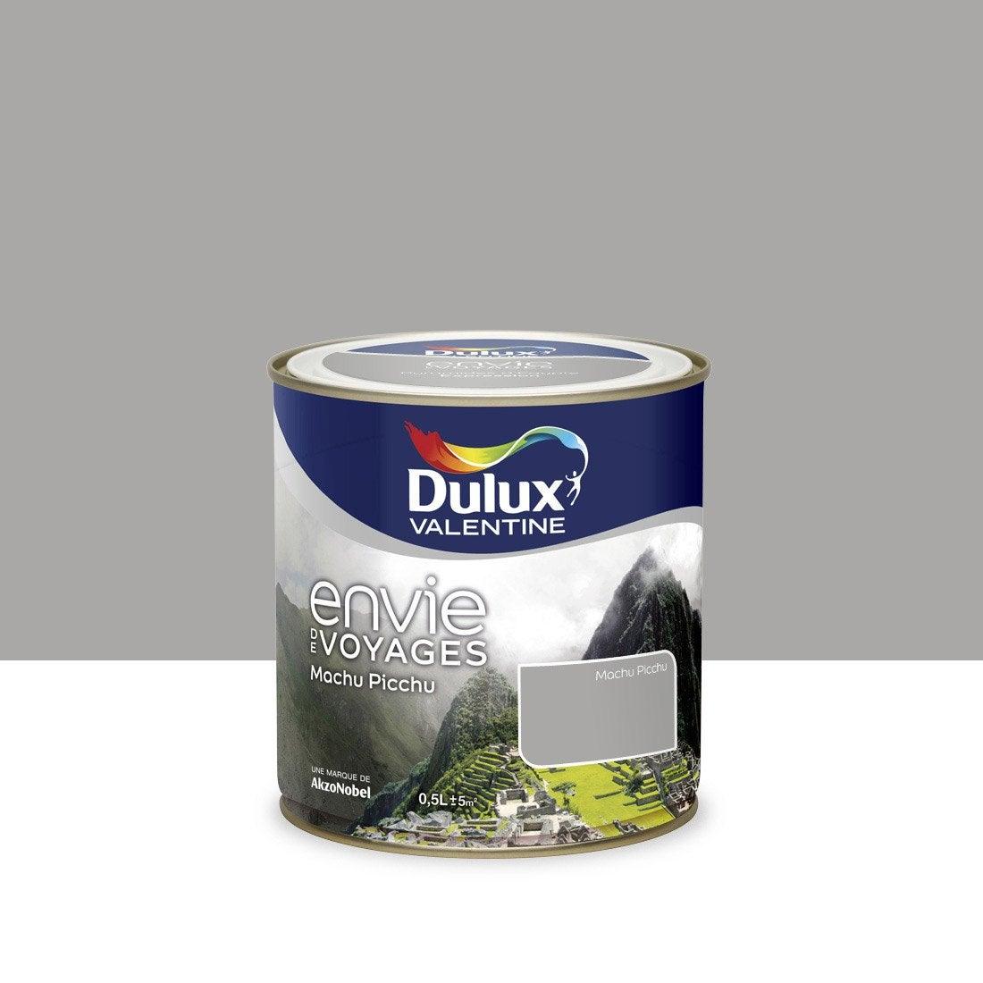 peinture gris machu picchu moyen dulux valentine envie de voyage 0 5 l leroy merlin. Black Bedroom Furniture Sets. Home Design Ideas