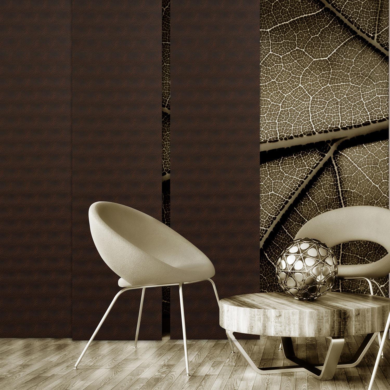 panneau japonais ecaille gris x cm leroy merlin. Black Bedroom Furniture Sets. Home Design Ideas