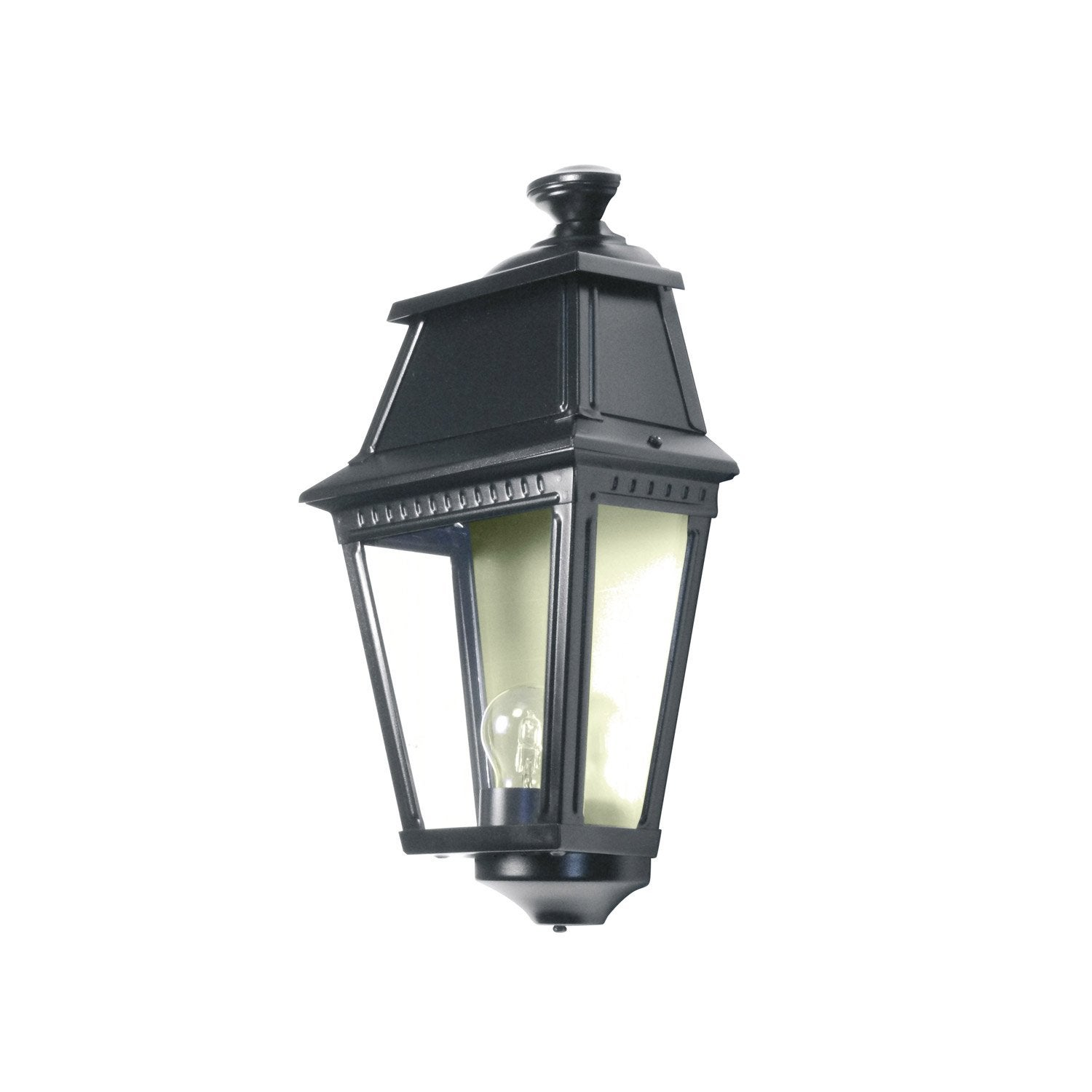 Applique ext rieure avenue 2 e27 noir roger pradier leroy merlin - Applique leroy merlin ...