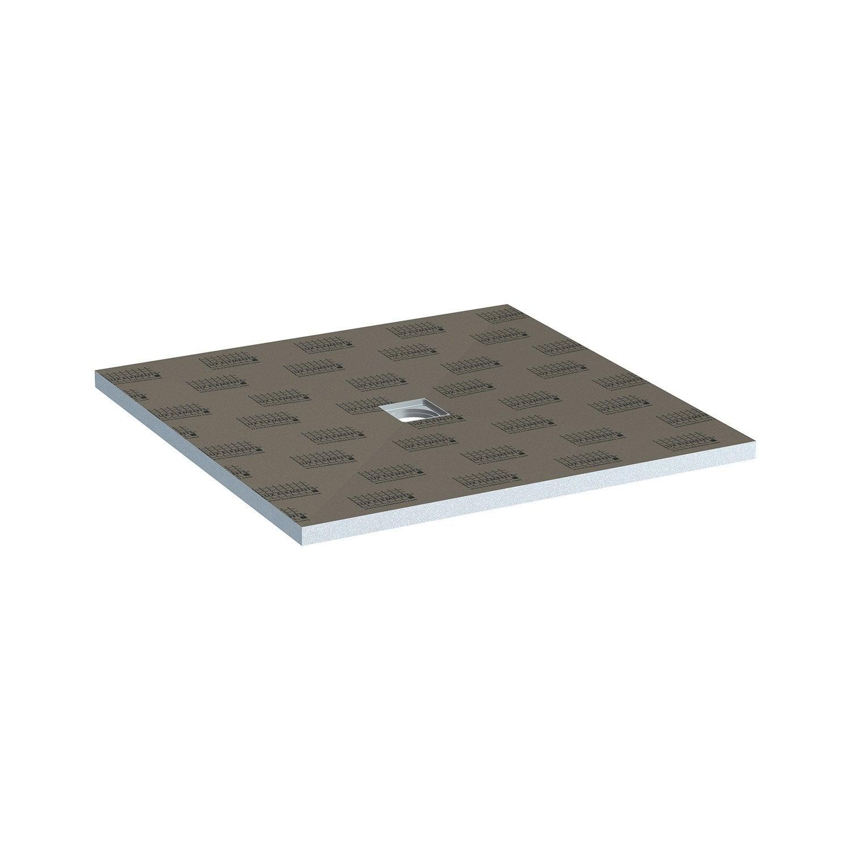 receveur de douche carreler carr x cm lux elements leroy merlin. Black Bedroom Furniture Sets. Home Design Ideas