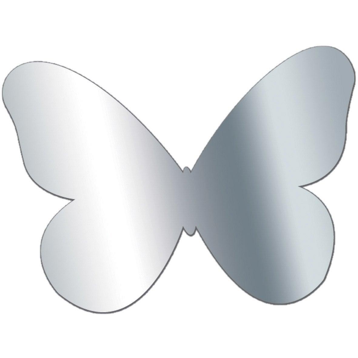 miroir en plexiglass papillon 10 cm x 10 cm leroy merlin. Black Bedroom Furniture Sets. Home Design Ideas