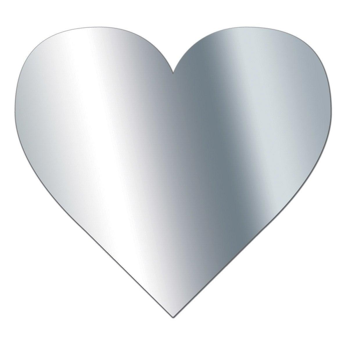 Miroir adh sif coeur 10 x 10 cm leroy merlin for Miroir autocollant leroy merlin