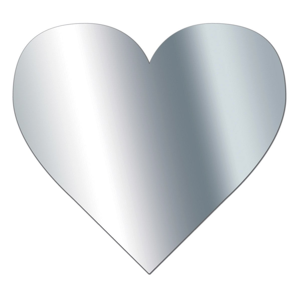 Miroir en plexiglass coeur 10 cm x 10 cm leroy merlin for Grand miroir mural leroy merlin