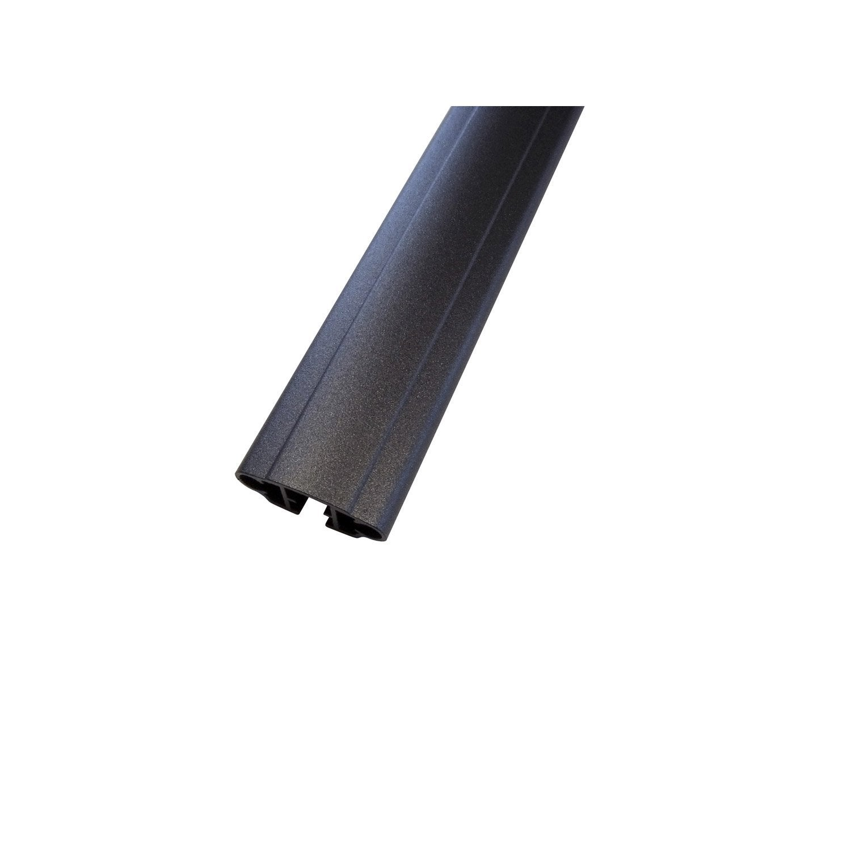 profil en aluminium laqu ancy haut 2cm x larg 140cm leroy merlin. Black Bedroom Furniture Sets. Home Design Ideas