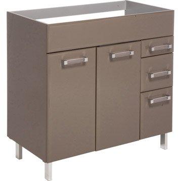 Les produits les conseils et les id es pour le bricolage - Leroy merlin meuble sous vasque ...