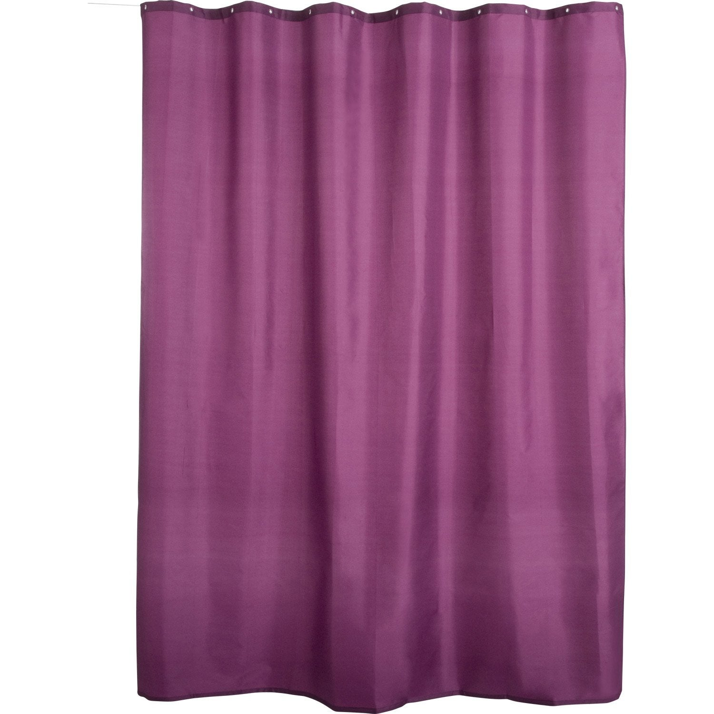 rideau violet. Black Bedroom Furniture Sets. Home Design Ideas