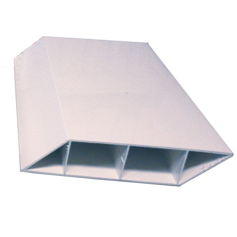 lisse de cl ture pvc naterial blanc x l 3 cm leroy merlin. Black Bedroom Furniture Sets. Home Design Ideas