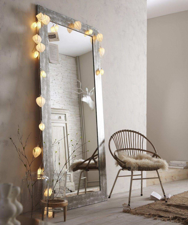 Diaporama des miroirs qui refl tent votre style - Miroir design leroy merlin ...