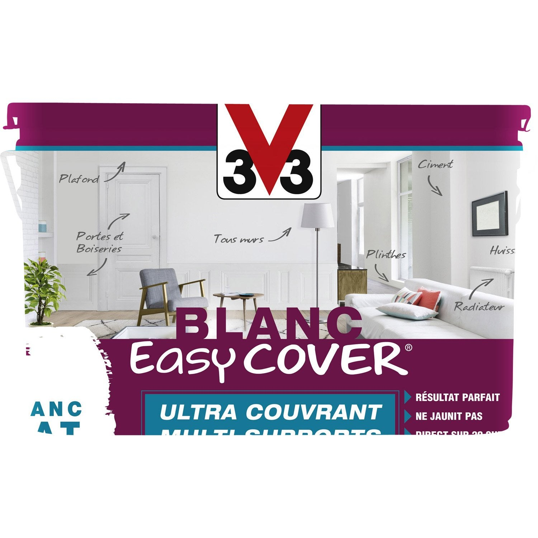 peinture blanche mur plafond et boiserie easy cover v33 mat 5 l leroy merlin. Black Bedroom Furniture Sets. Home Design Ideas