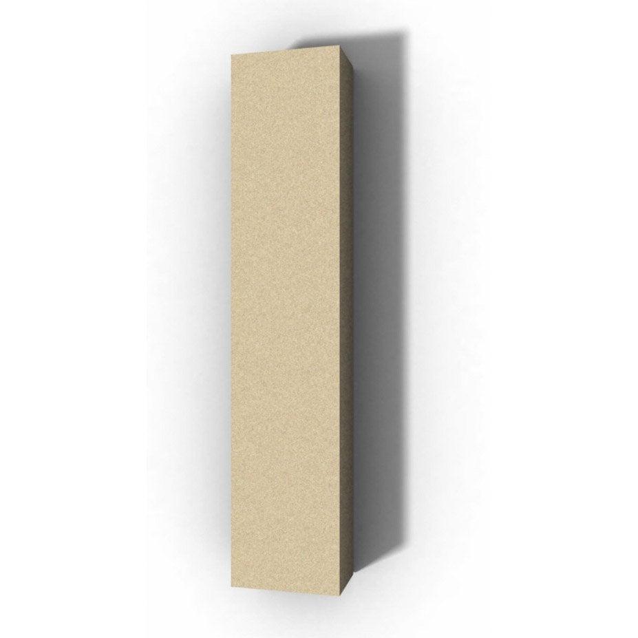 lettre bois majuscule i 30 cm x 30 cm leroy merlin. Black Bedroom Furniture Sets. Home Design Ideas