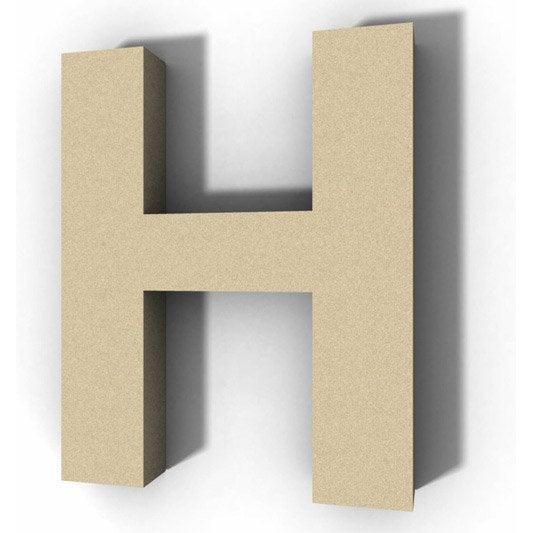 lettre bois majuscule h 30 cm x 30 cm leroy merlin. Black Bedroom Furniture Sets. Home Design Ideas
