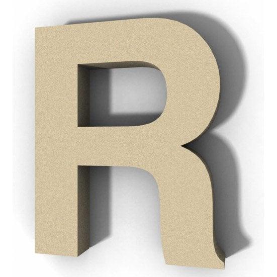 Lettre En Bois Leroy Merlin : lettre bois majuscule r 12 cm x 12 cm leroy merlin ~ Dailycaller-alerts.com Idées de Décoration