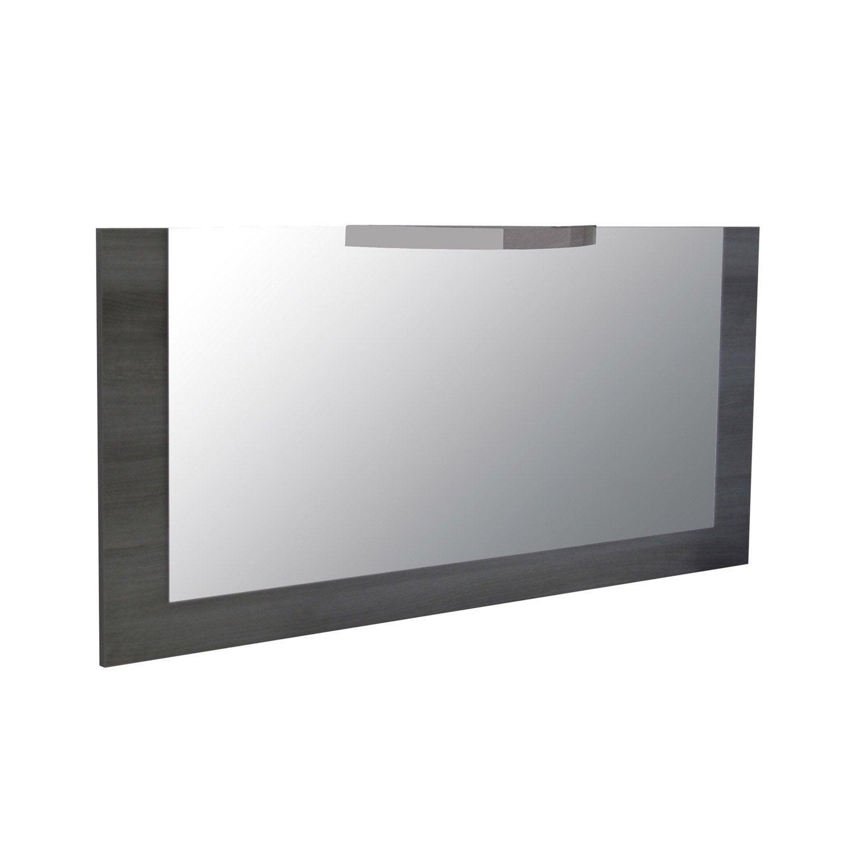 Miroir avec clairage int gr image leroy merlin for Miroir chauffant leroy merlin