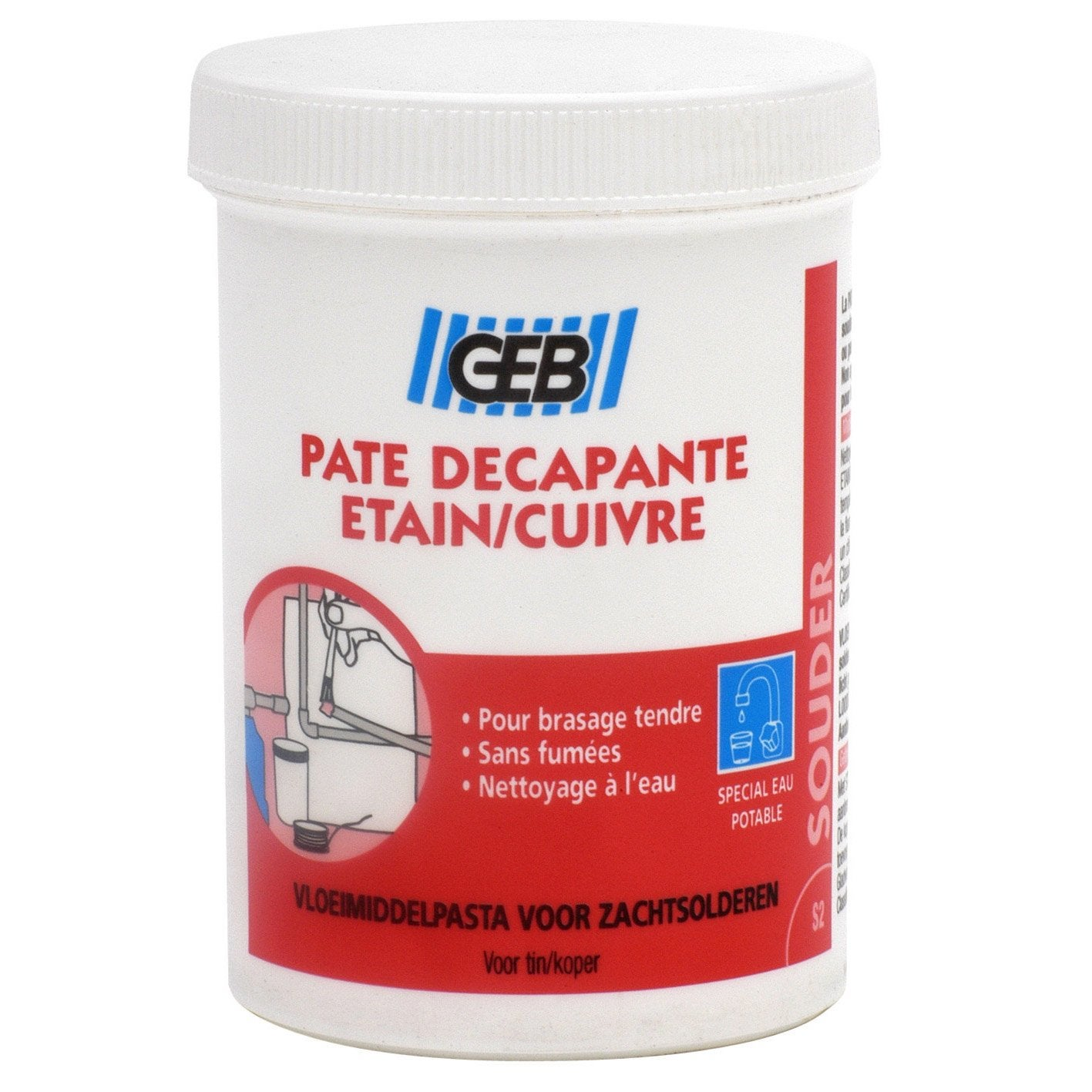 P te d capante etain cuivre 150 ml geb leroy merlin - Produit pour nettoyer l etain ...