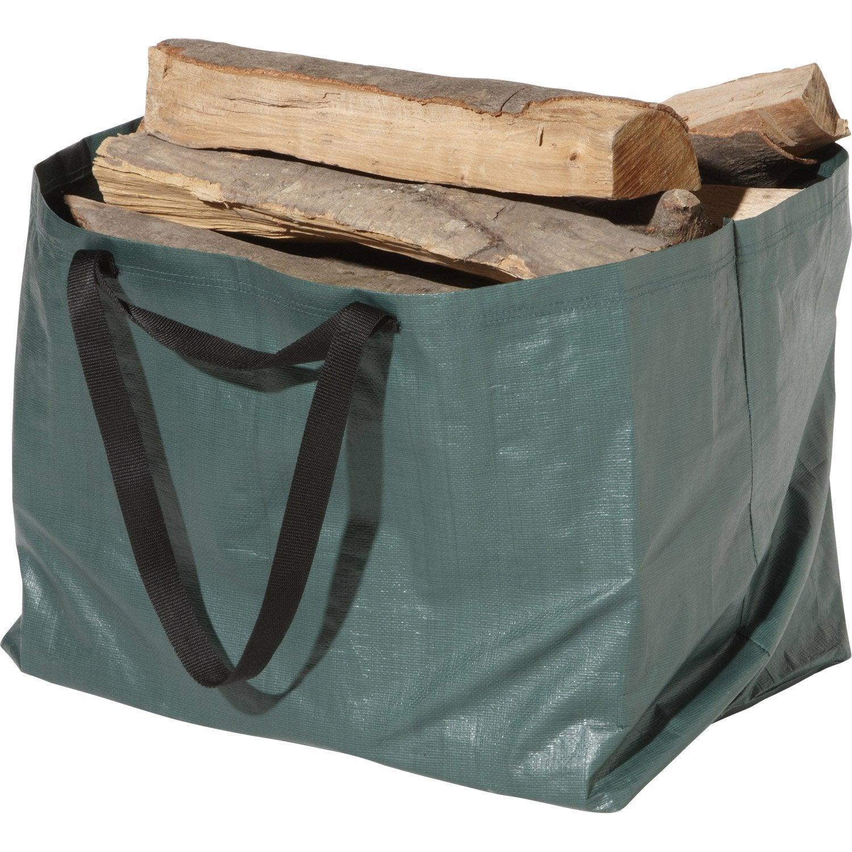 Sac b ches en b che delhy vert leroy merlin - Bache wood leroy merlin ...