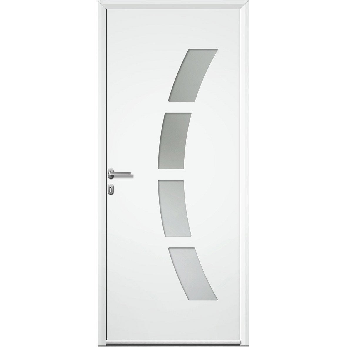 Porte d 39 entr e pvc leroy merlin images for Porte 3 points leroy merlin