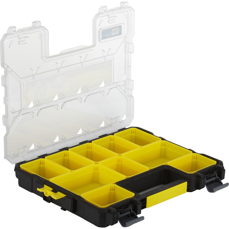 Malette plastique stanley x h 6 3 x cm - Malette rangement outils vide ...