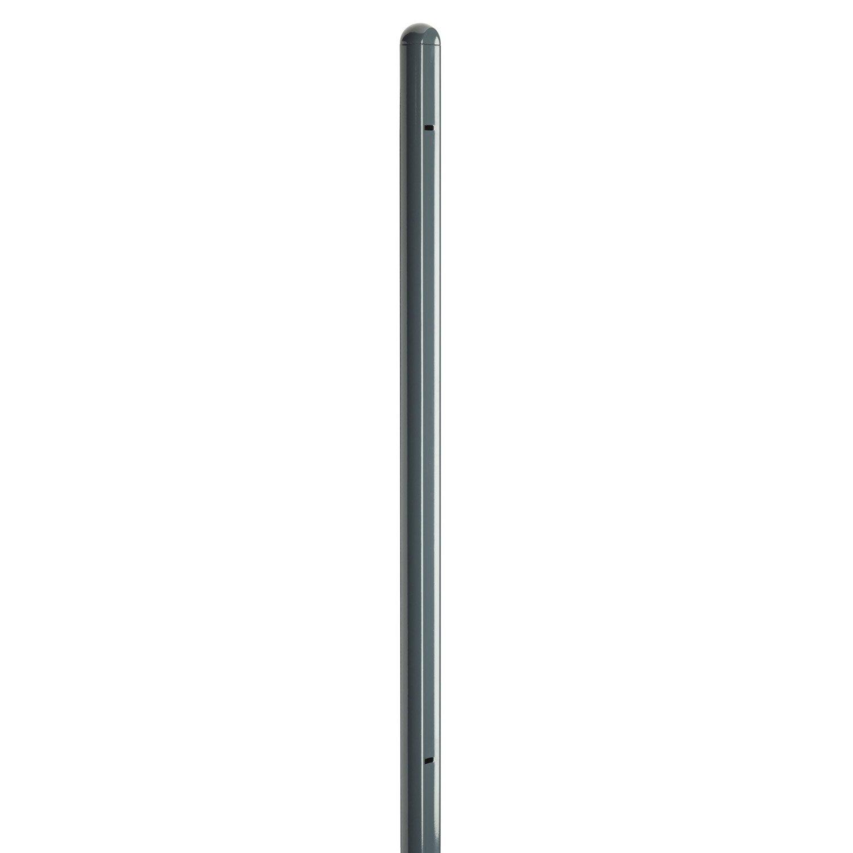 poteau en acier galvanis de finition axyle l 5 x p 7 5 x h 170 cm leroy merlin. Black Bedroom Furniture Sets. Home Design Ideas